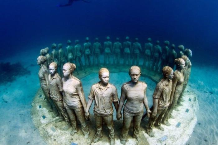 Мексика, Музей подводных скульптур
