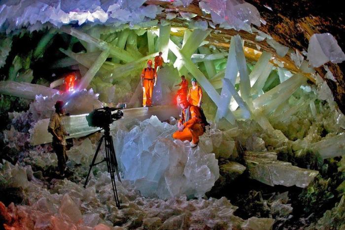 Мексика, Пещера гигантских кристаллов