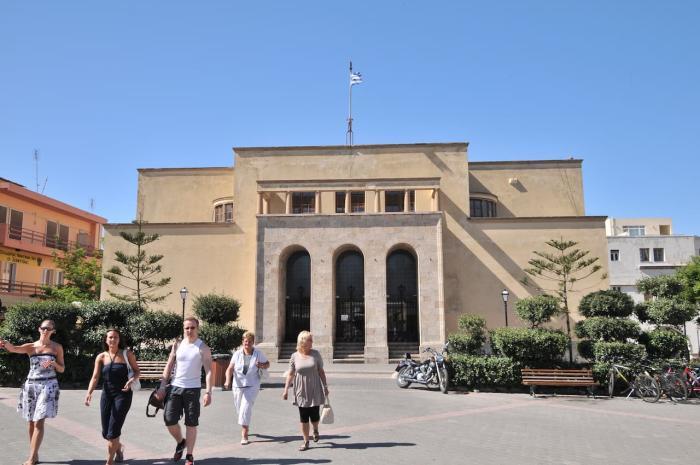 Кос, Археологический музей