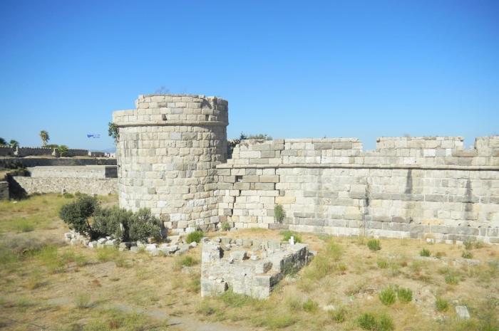 Кос, Замок рыцарей-иоаннитов