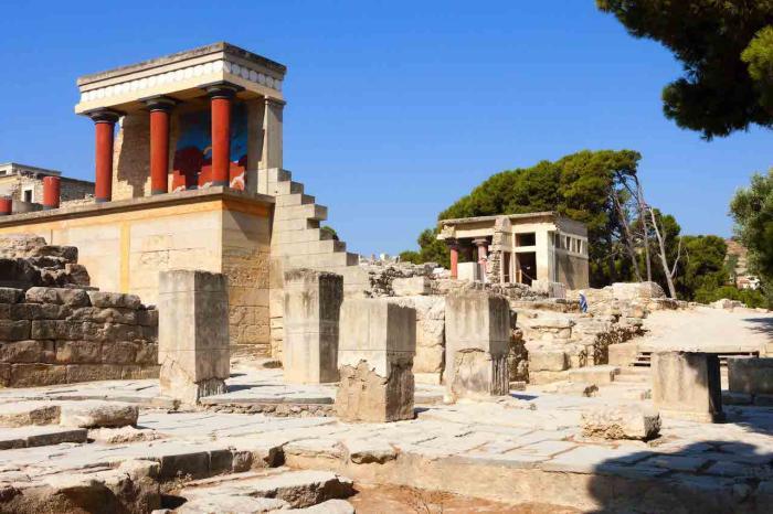 Крит, Кносский дворец