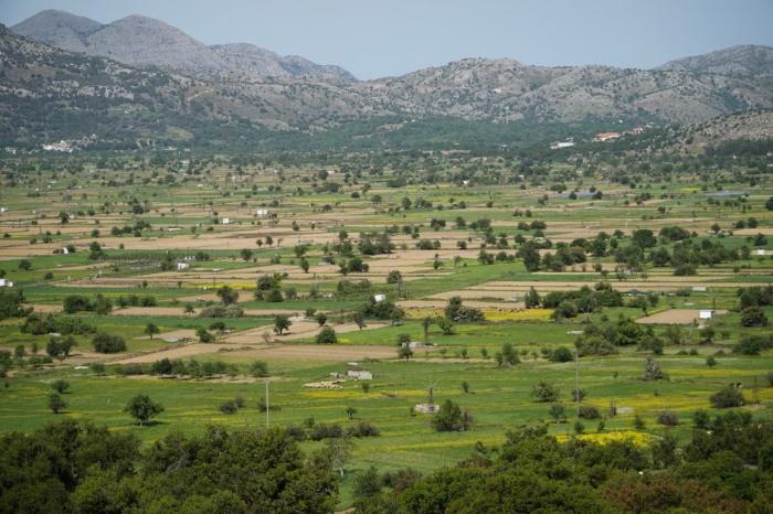 Крит, плато Лассити