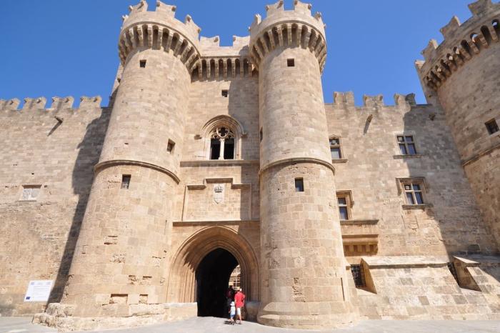 Родос, дворец Великих магистров