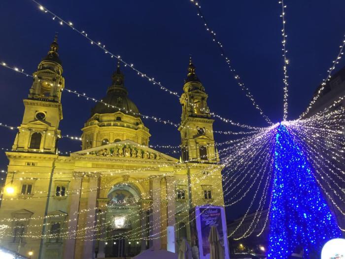 Будампешт зимой