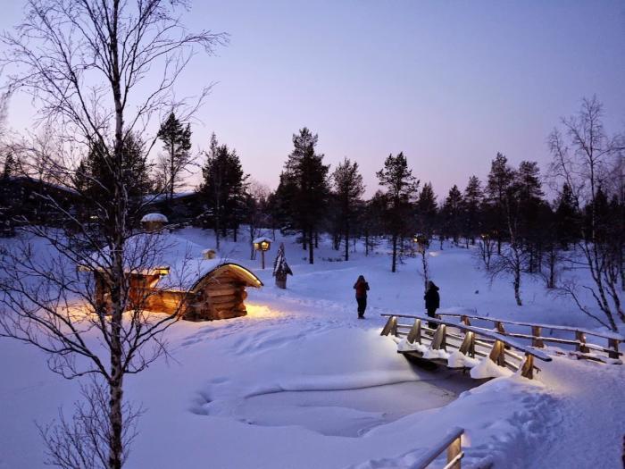 Деревня в Финляндии