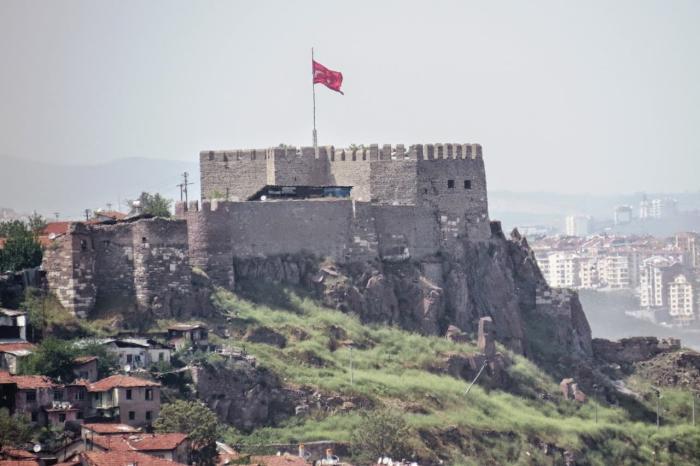 Крепость Хисар в Анкаре