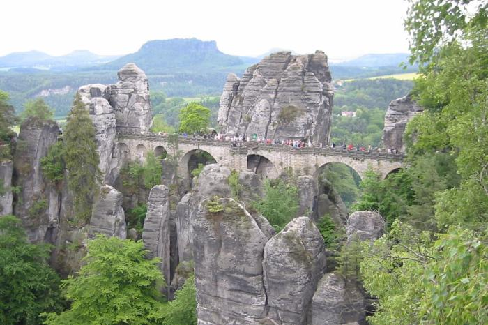 Национальный парк в Саксонии