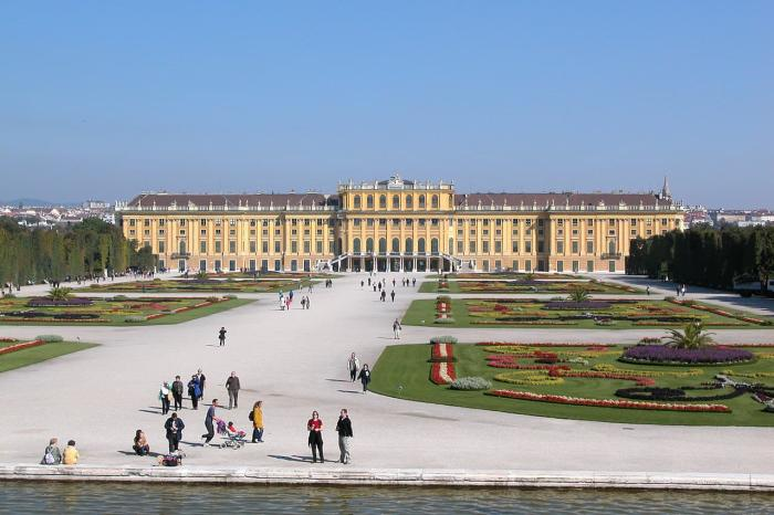 Австрия, Шеннбрун