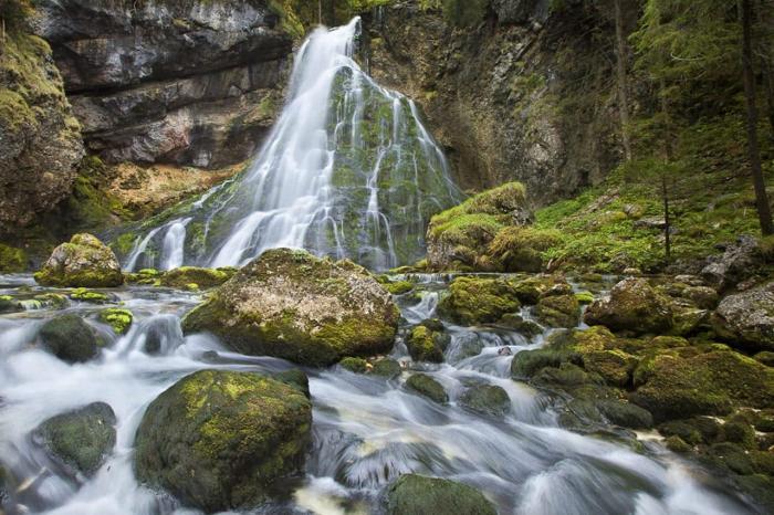 Австрия, Водопад Голлинг-на-Зальцахе