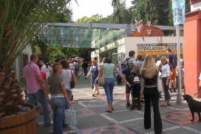 Чехия, Пражский зоопарк