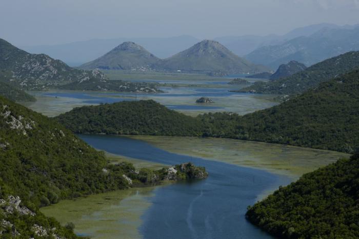 Черногория, Скадарское озеро