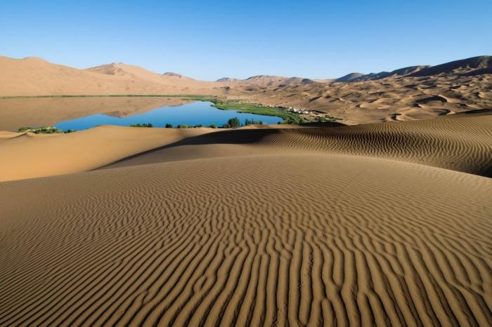 Египет, Оазис в пустыне Сахара