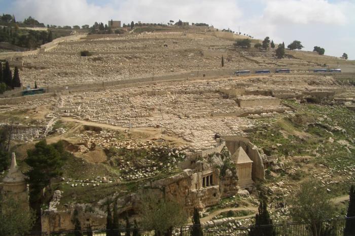 Израиль, Масличная гора