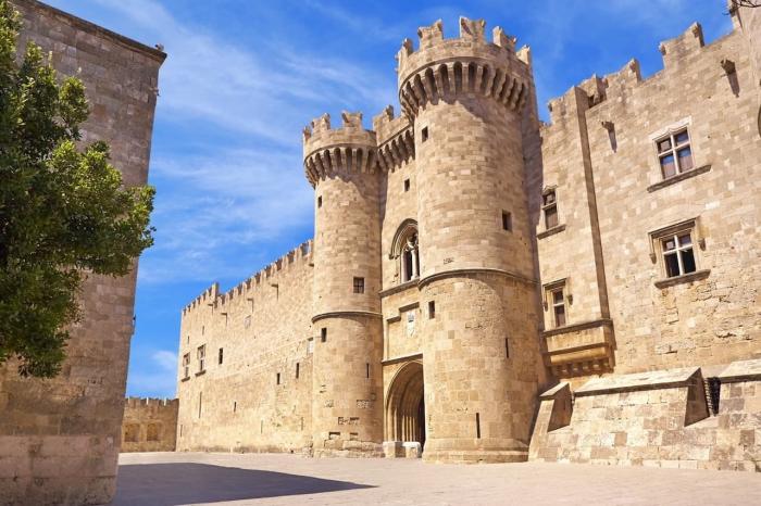 Родос, Родосская крепость
