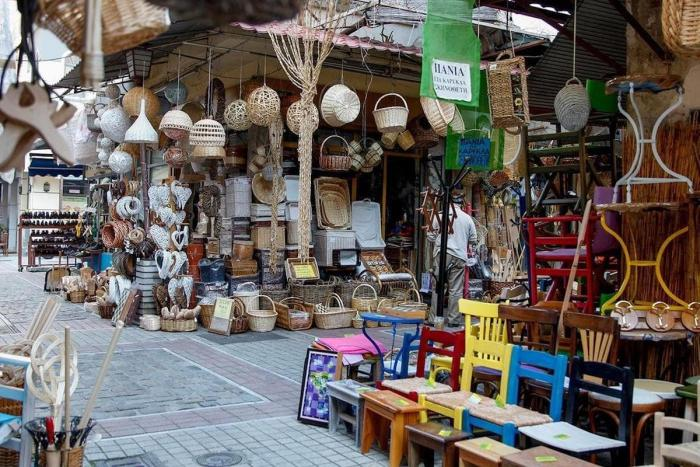 Салоники, рынок Модиано