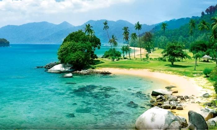 Погода в Фантьете в июле, Остров Кат Ба