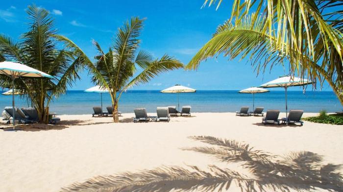Пляж Вьетнама в июле