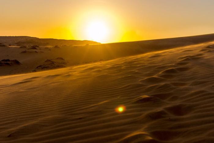 Погода в Фантьете в январе, Фантьет красные дюны