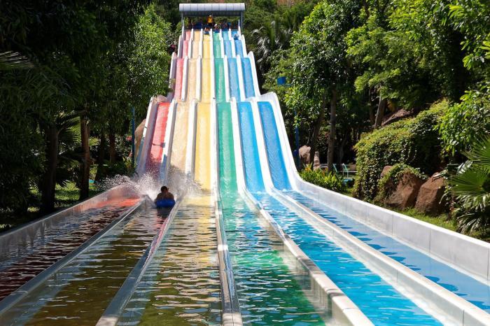 Погода в Нячанге в январе, Парк развлечений Vinpearl
