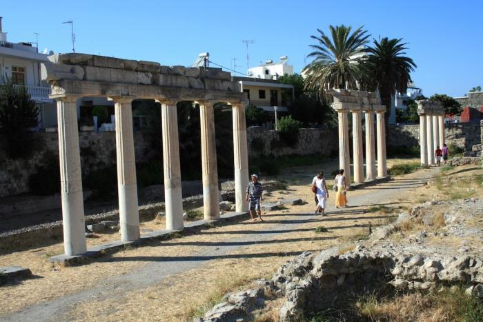 Греция Кос Асклепион
