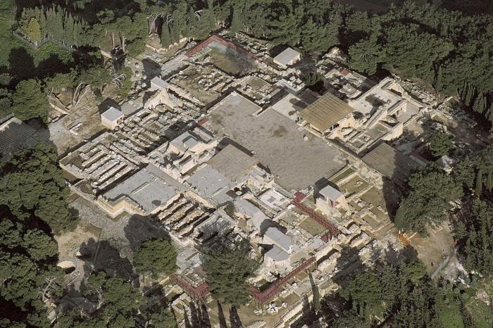 Греция Крит лабиринт Минотавра
