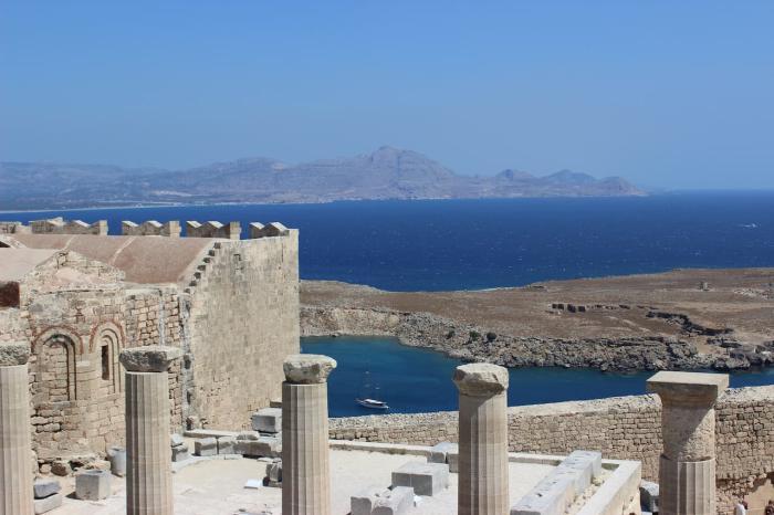 Греция Родосский акрополь