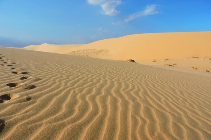 Погода в Фантьете в августе - Красные дюны