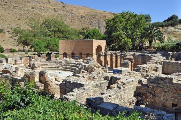 Погода на Крите в мае - Античное поселение Гортина