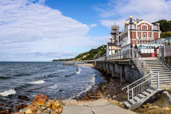 Балтиское море, Светлогорск