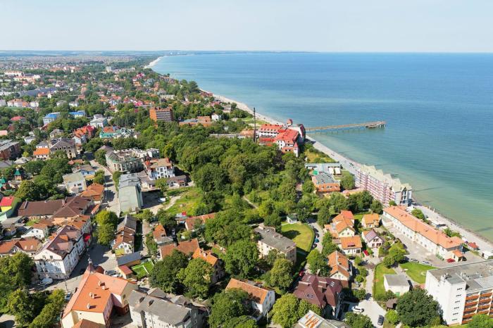 Балтиское море, Зеленоградск