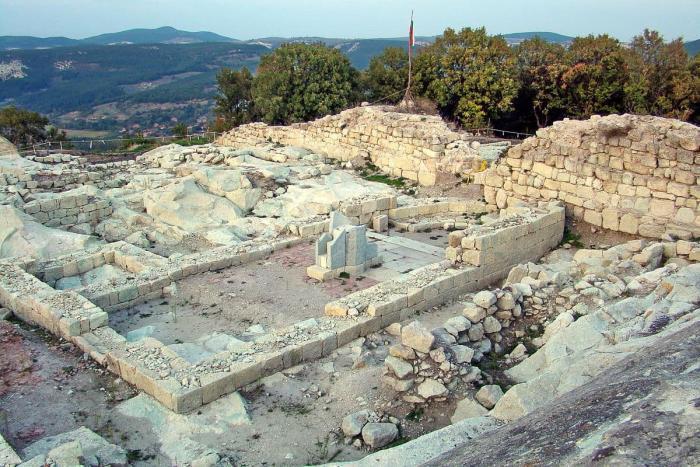 Болгария, Руины древнего города Перперикон