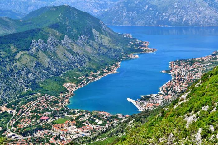 Черногория, Которский залив