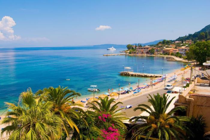 Греция, остров Корфу