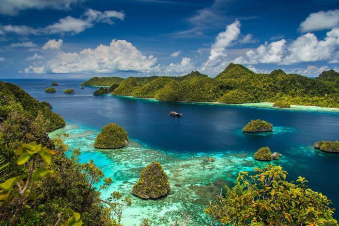 Индонезия, экзотические острова