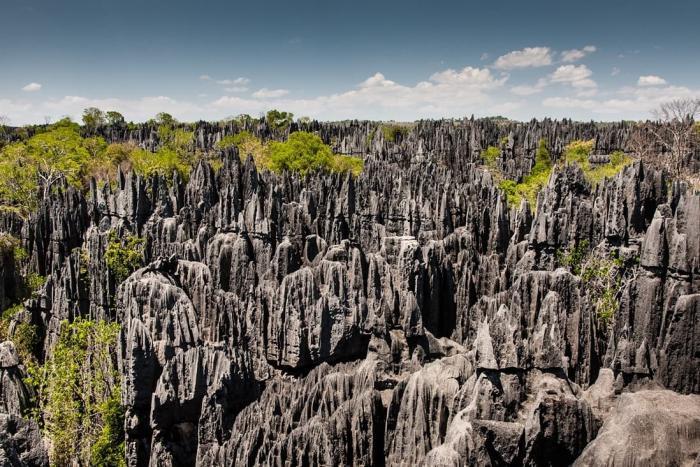 Мадагаскар, Цинжи-дю-Бемараха - царство каменных скал