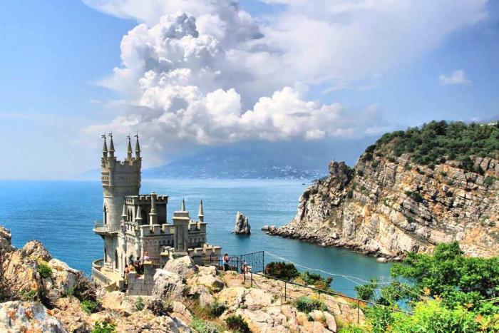 Отдых на Черном море, Крым