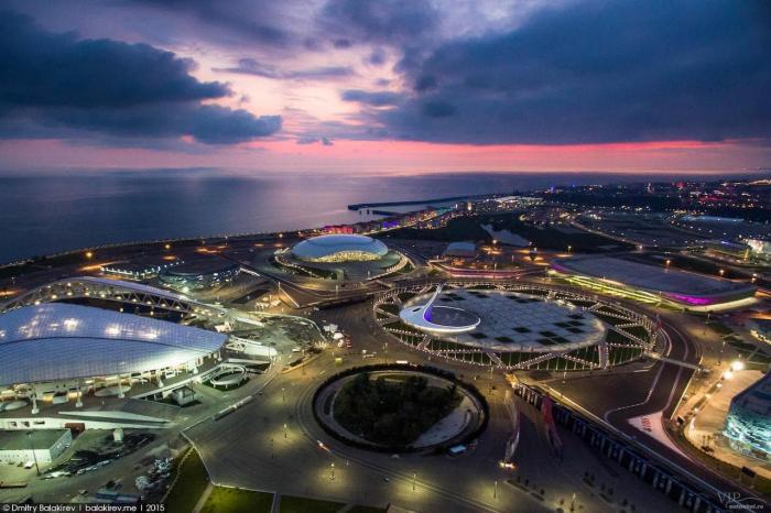 Отдых на Черном море, Сочи, Олимпиская набережная