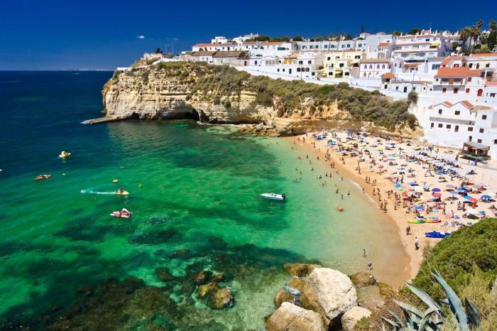 Португалия, Пляжный отдых