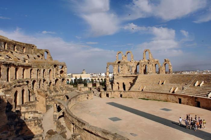 Тунис, Руины древнего города Карфаген