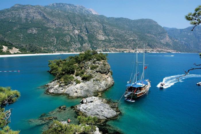 Турция, Попробуйте морские прогулки