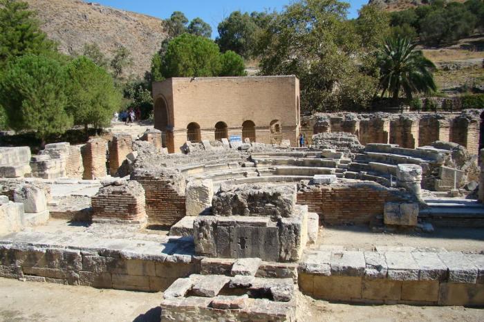 Погода на Крите в сентябре - Древний город Гортина