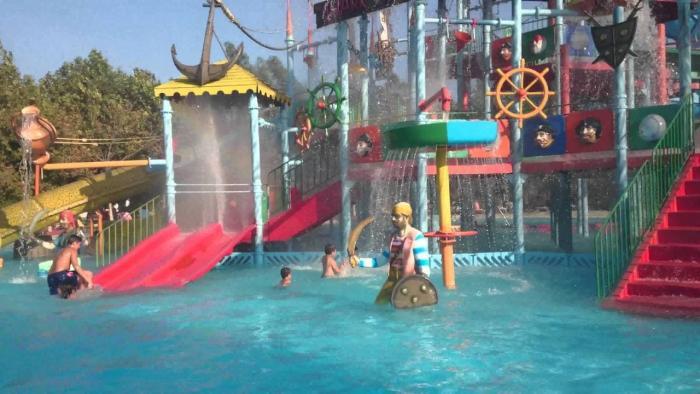 Отдых с детьми в Салоники, Аквапарк Waterland
