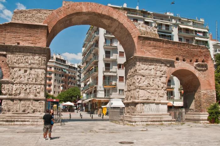 Погода в Салониках в сентябре - Арка и гробница Галерия