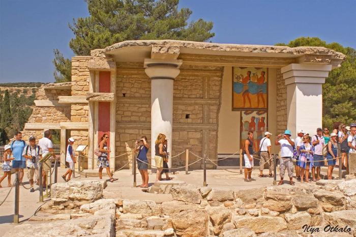 Греция Крит Кносс