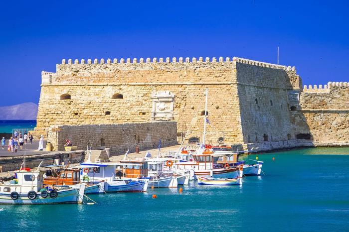 Греция Крит Крепость Кулес
