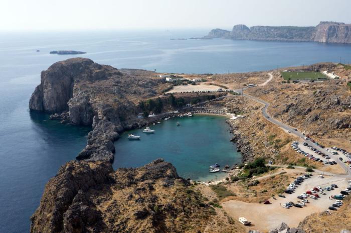 Греция Родос Холм Профитис Илиас