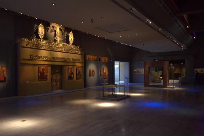 Греция Салоники Музей византийской культуры