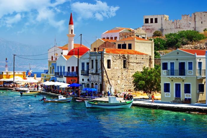 Греция в июне
