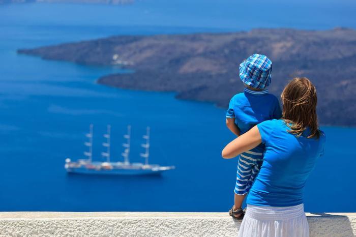 Отдых с детьми, С ребёнком в Грецию