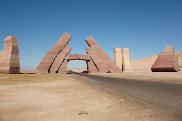 Египет Хургада Дыхание пустыни